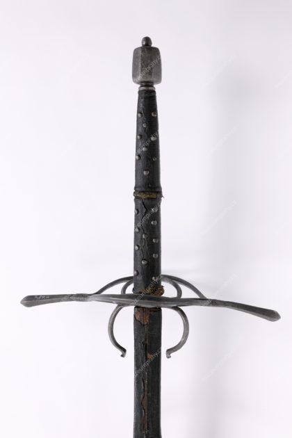 Dvouruční meč (šaršoun/rutlník), železo, 16. století, MMP H 7.897