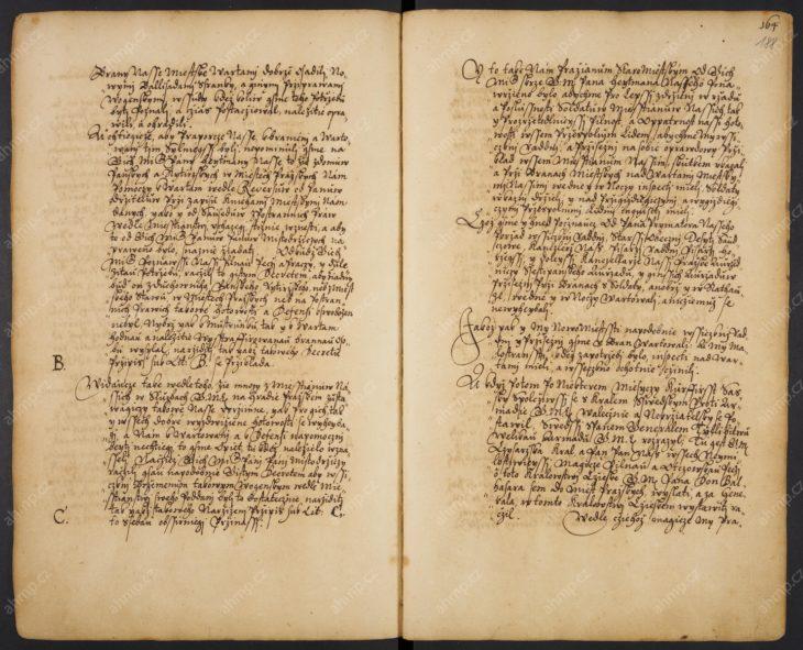 Zápis o průběhu obsazení Prahy saským vojskem od listopadu 1631 do května 1632, AMP, Sbírka rukopisů, rkp. 327, kniha pamětní Starého Města pražského, [1463] 1587–1656, f. 186r–211v