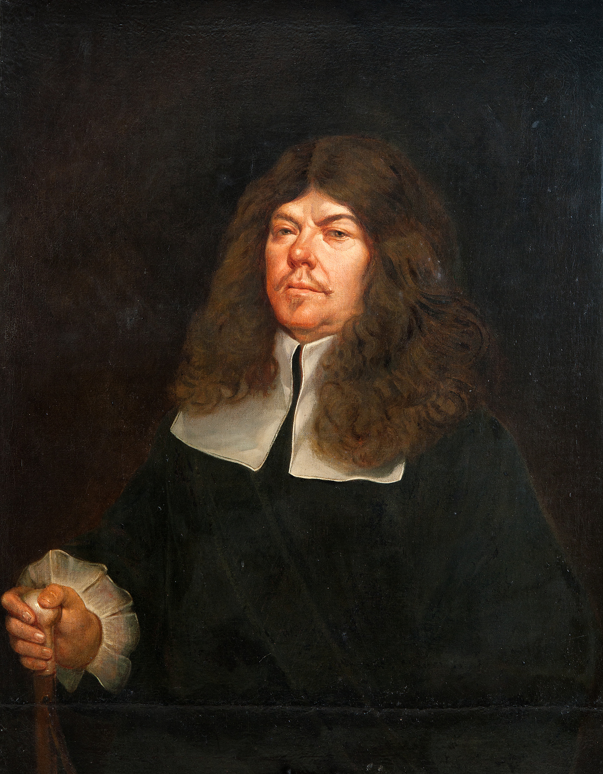 Anonym, Portrét Mikuláše Františka Turka ze Šturmfeldu a Rosenthalu, po 1643, olej na plátně, GHMP M-1578
