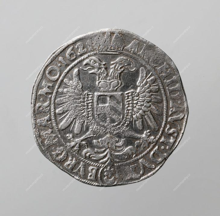 120krejcar 1621, mincovna: Praha, mincmistr: Beneš Hübmer (1620–1623), MMP H 15.246