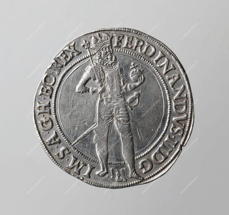55tolar 1623, mincovna: Praha, mincmistr: Jan Suttner (1623–1625), MMP H 15.276