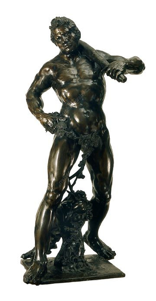 Adrian de Vries, Herkules s jablky Hesperidek, bronz, 1625–1626, H 014 576