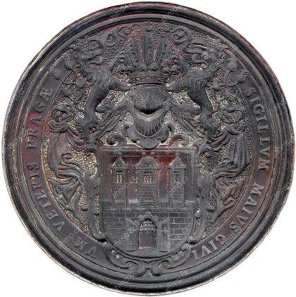 Velká městská pečeť Starého Města pražského zhotovená mezi lety 1550–1580, AMP, Sbírka typářů, K I 6