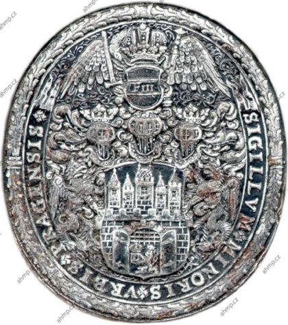 Městská pečeť Malé Strany zhotovená mezi lety 1697–1700, AMP, Sbírka typářů, K I 10