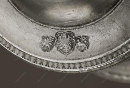 Holba s vročením 1619, Čechy, cín litý, rytý, 1619, MMP H 13.45