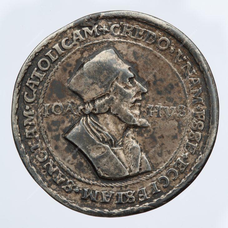 Medaile, Mistr Jan Hus, Jáchymov, Hieronymus Magdeburger a jeho škola, stříbro, MMP H 16.211