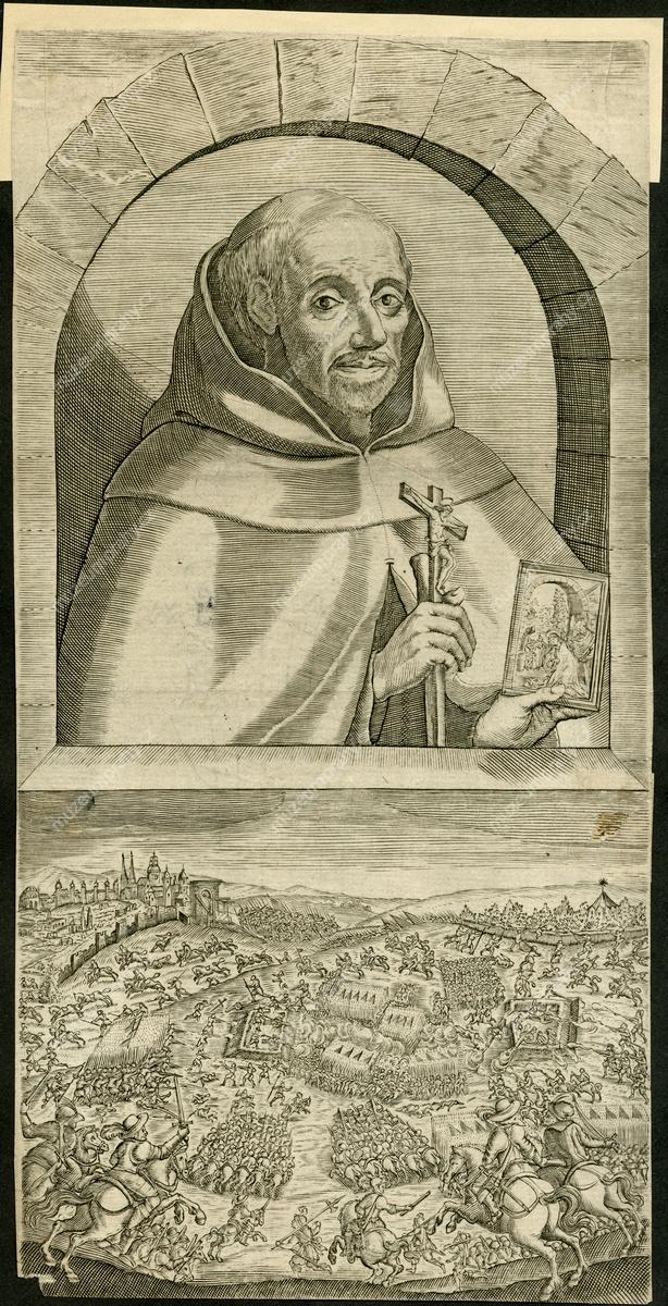 Portrét Patera Dominica Scalzaly de Jesu Maria, mědiryt, po 1621, MMP H 44.869