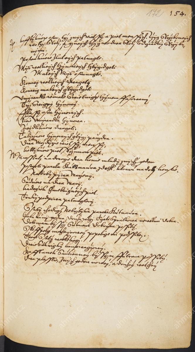 Pozůstalostní inventář Pavla Kutnaura, otce Jana a Pavla, 3. 6. 1589 / 2