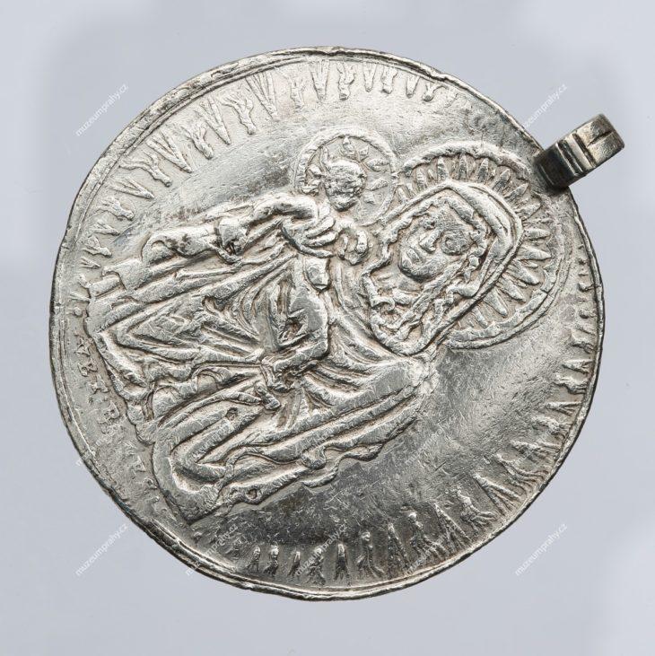 Medaile na vrácení Palladia země české do Staré Boleslavi, Praha, Salomon Scultet, stříbro, 1638, MMP H 26.043